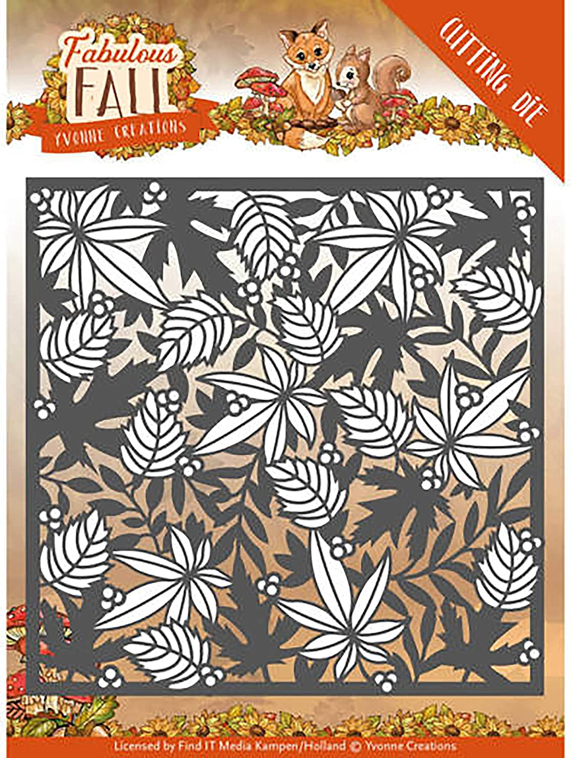 Find It Trading Yvonne Creations Fabulous Fall Die-autumn Frame