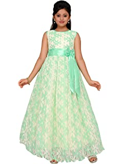 c904575ca80 ADIVA Girl s Net Gown  Amazon.in  Clothing   Accessories