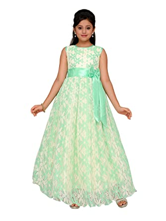 Adiva Girls Indian Party Wear Gown Dress for Kids