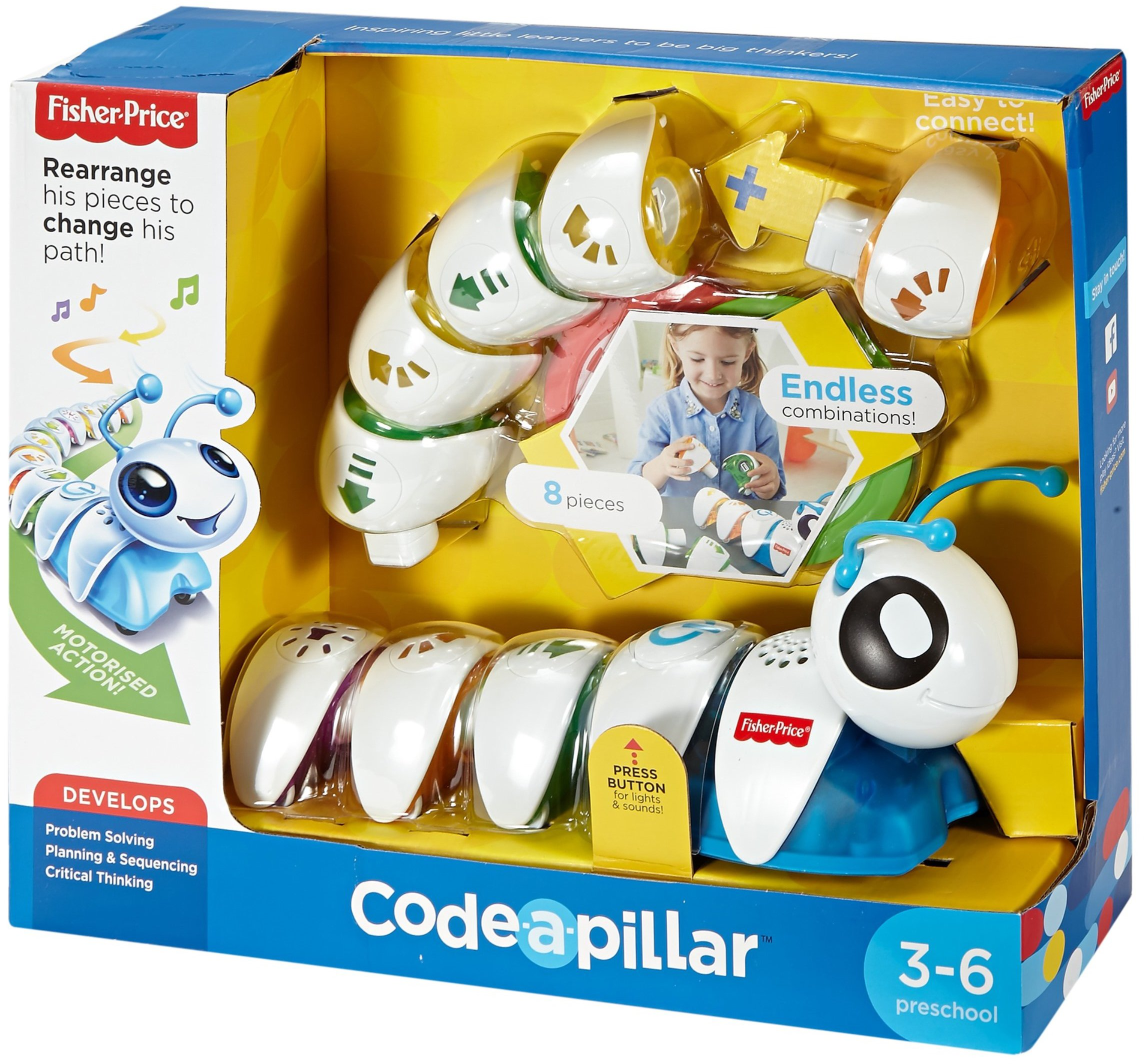 Fisher Price Think & Learn Code-a-Pillar Toy by Fisher-Price (Image #22)