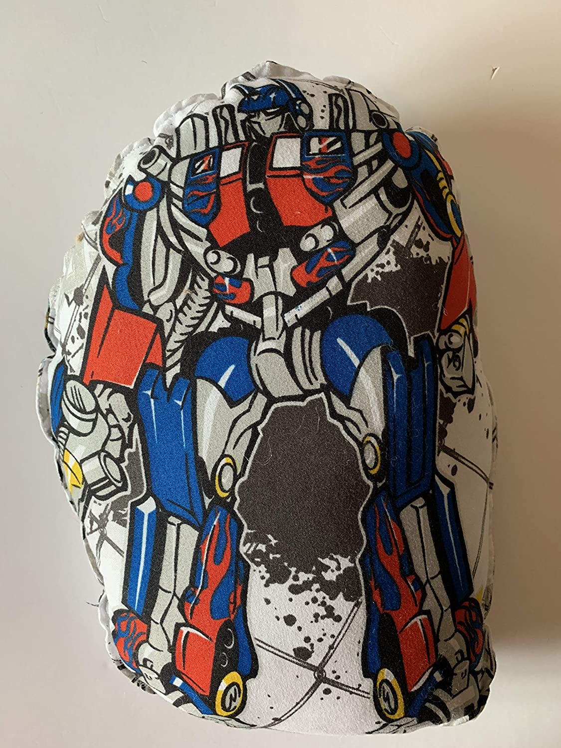 Bumblebee Optimus Prime character pillows washable weighted pillows 2 lbs Transformers Weighted Childrens pillow