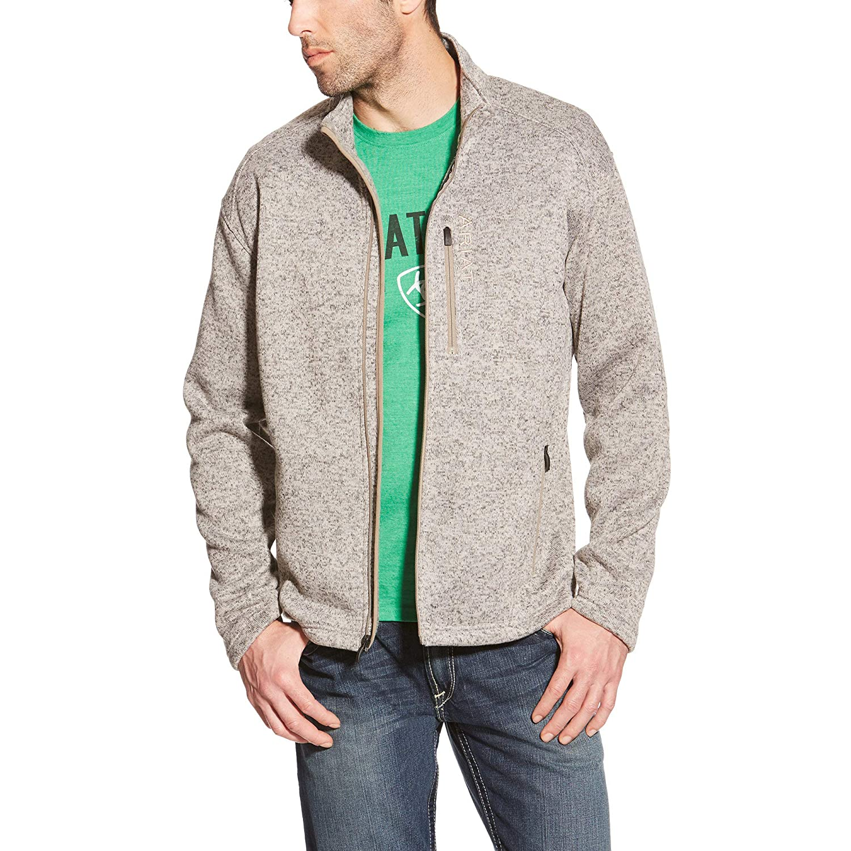 Ariat Mens Caldwell Full Zip SweaterSweatshirt