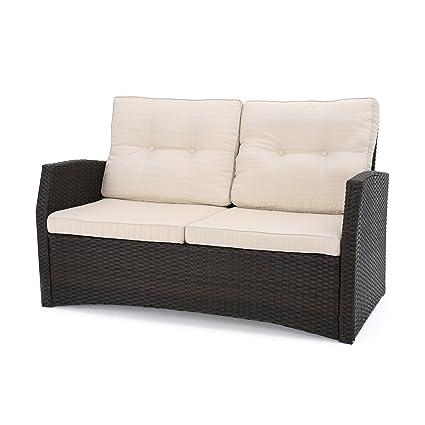 Amazon.com: Great Deal Furniture Baldick - Asiento de mimbre ...