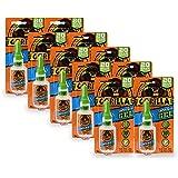 Gorilla Super Gel 20 Gram, 10-Pack, Clear, 10 Pack
