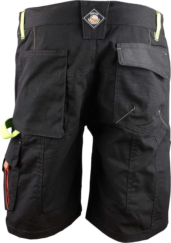 Prisma/® pour l/ét/é Shorts de Travail Cargo Homme