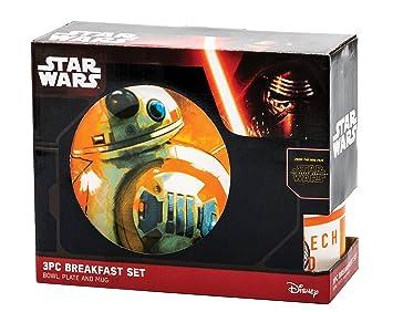 Star Wars 599386031 - Set Desayuno BB-8 Episodio VII: Amazon.es: Juguetes y juegos