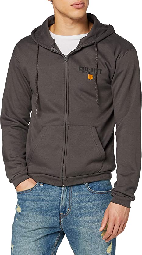 TALLA S. Call of Duty: Black Ops 4 Sudadera Patch Cremall