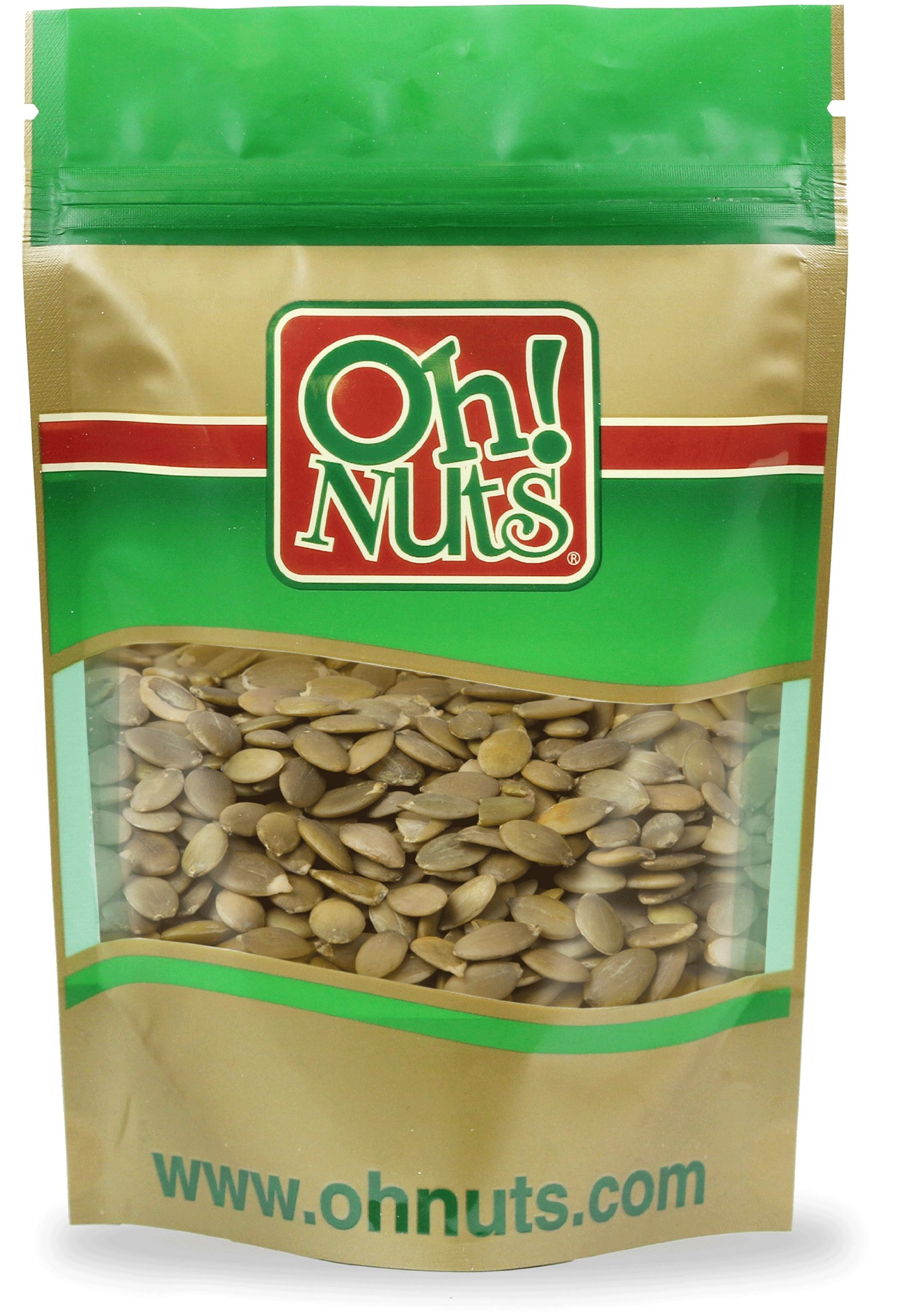 Raw Pepitas (No Shell Pumpkin Seeds) 27.5 Pound Case - Oh! Nuts