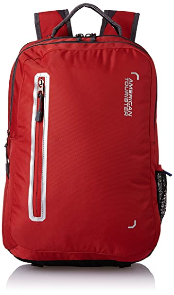 American Tourister Polyester 32 Ltrs Red Laptop Bag  AMT Buzz 2016 Backpack 07 RED  Laptop Backpacks