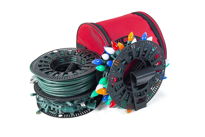 Santa's Bags Install N Store Light Storage Reels and Wire Spool Santa's Bags