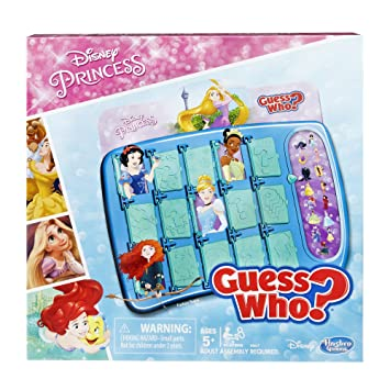 Guess Who? Disney Princess Edition Game: Amazon.co.uk: Toys & Games