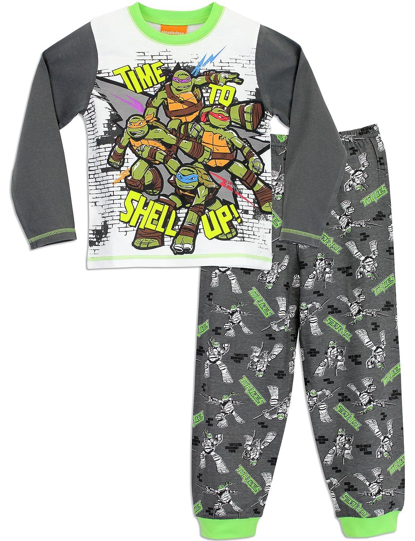 Teenage Mutant Ninja Turtles - Pijama para Niños - Las Tortugas Ninja - 4 a 5 Años