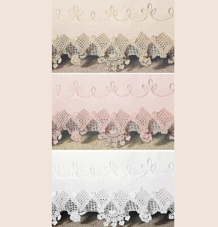 WestPointホームかぎ針編みTailoredベッドスカート Qun-15