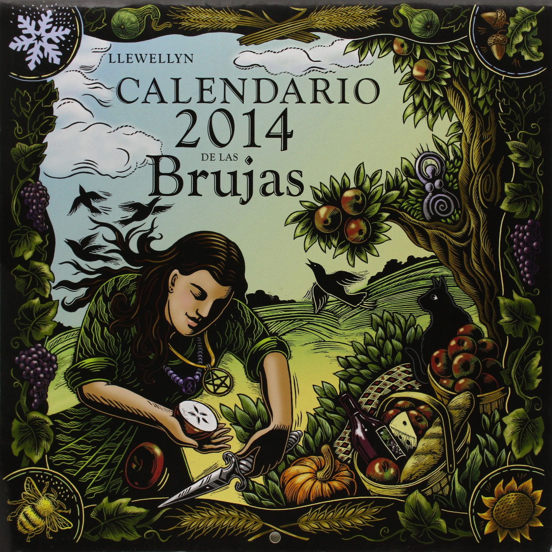 Calendario de las brujas 2014 (Spanish Edition) by Obelisco