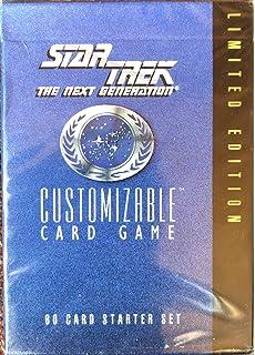 120 Star Trek Next Generation Customizable Card Game M Lot of 2 Sealed Decks