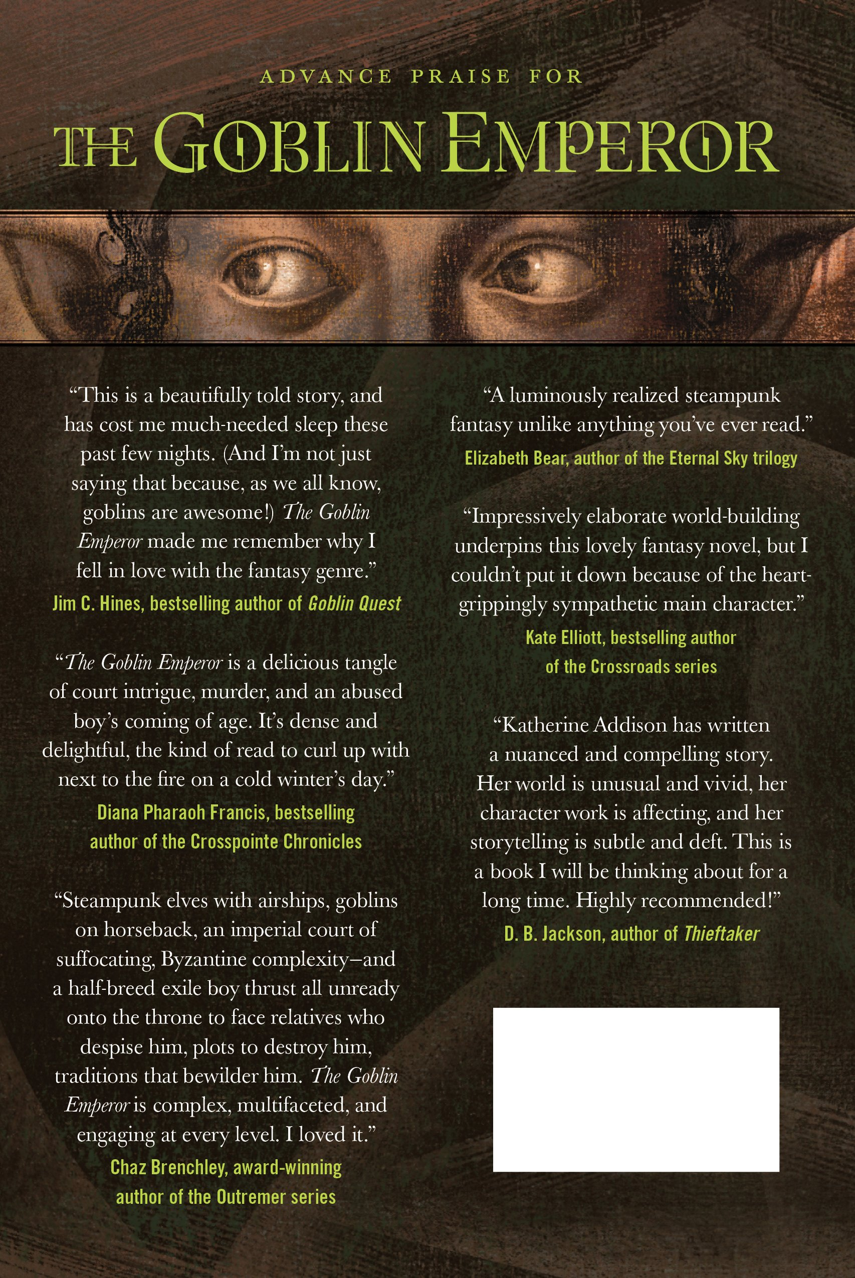 The Goblin Emperor: Katherine Addison: 9780765326997: Amazon: Books
