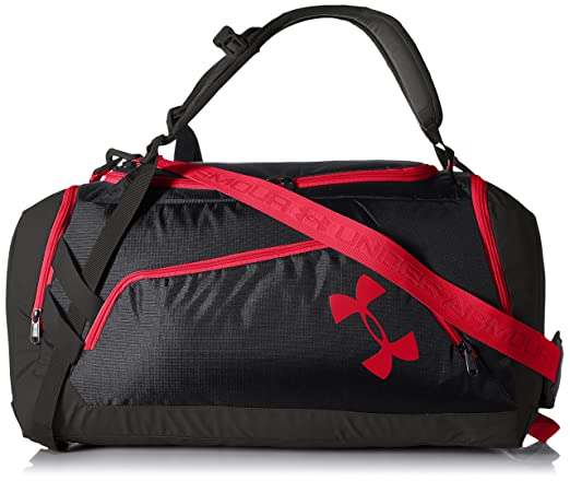 5b5c2835f50f Amazon.com   Under Armour UA Storm Contain Backpack Duffle 3.0 OSFA Black    Sports   Outdoors