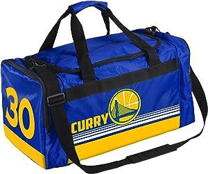 Golden State Warriors Curry S. #30 Medium Striped Core Duffle Bag