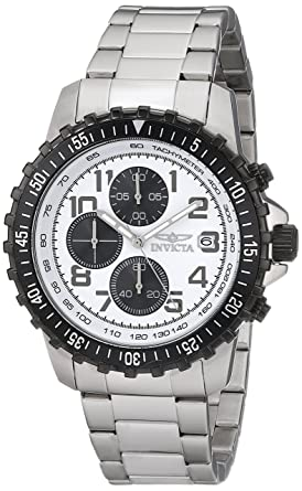 Amazon.com  Invicta Men s 5999 Pilot Collection Stainless Steel ... 4a4a98c54