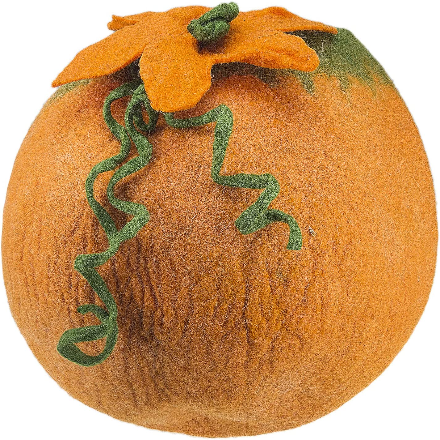 Orange Anigu Cozy Cat Cave Bed Handmade 100/% Merino Wool for Cats and Kittens