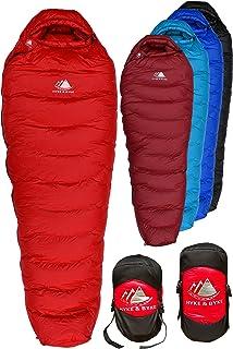 Hyke & Byke Snowmass Saco de Dormir Momia -15 Grados C Ultraligero - Saco de