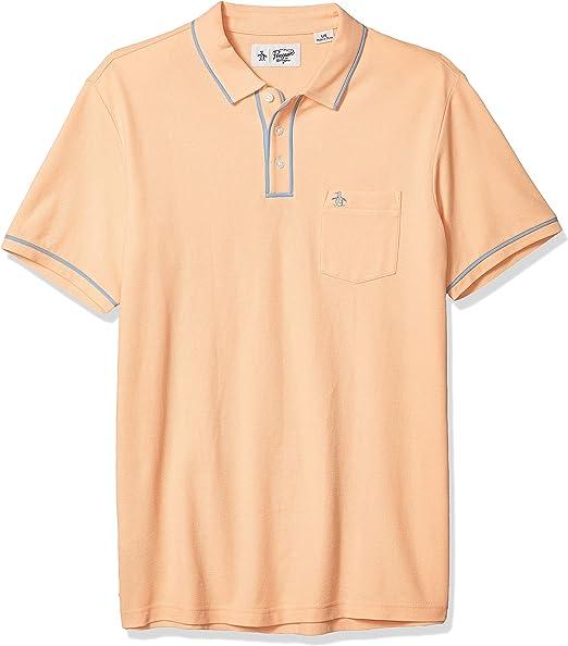 ORIGINAL PENGUIN Mens Short Sleeve Big and Tall Earl Polo Polo Shirt