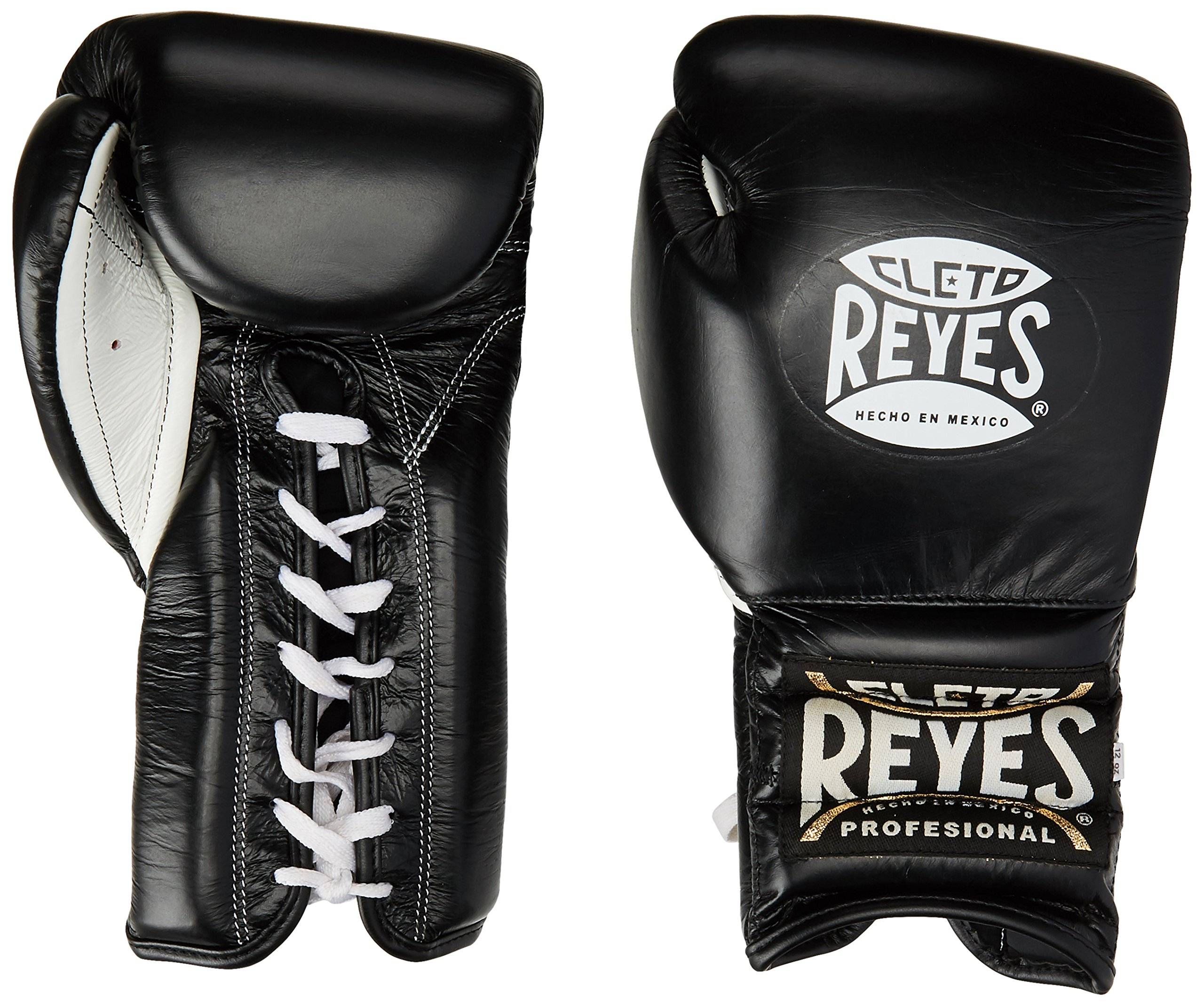 Cleto Reyes Leather 14 Ozs Red Laces  Boxing Gloves Original Made in Mexico