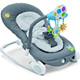 Chicco Balloon Musical Rocker - Dark Grey