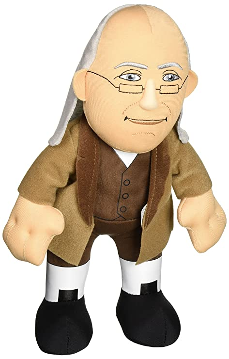 Image Unavailable. Image not available for. Color  Bleacher Creatures  Historical Benjamin Franklin 10 quot  Plush Figure 14b5f5f31