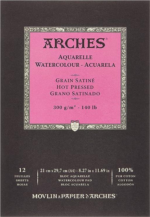 Arches Aquarelle Watercolour Paper Blocks 640gsm 50 000 Art