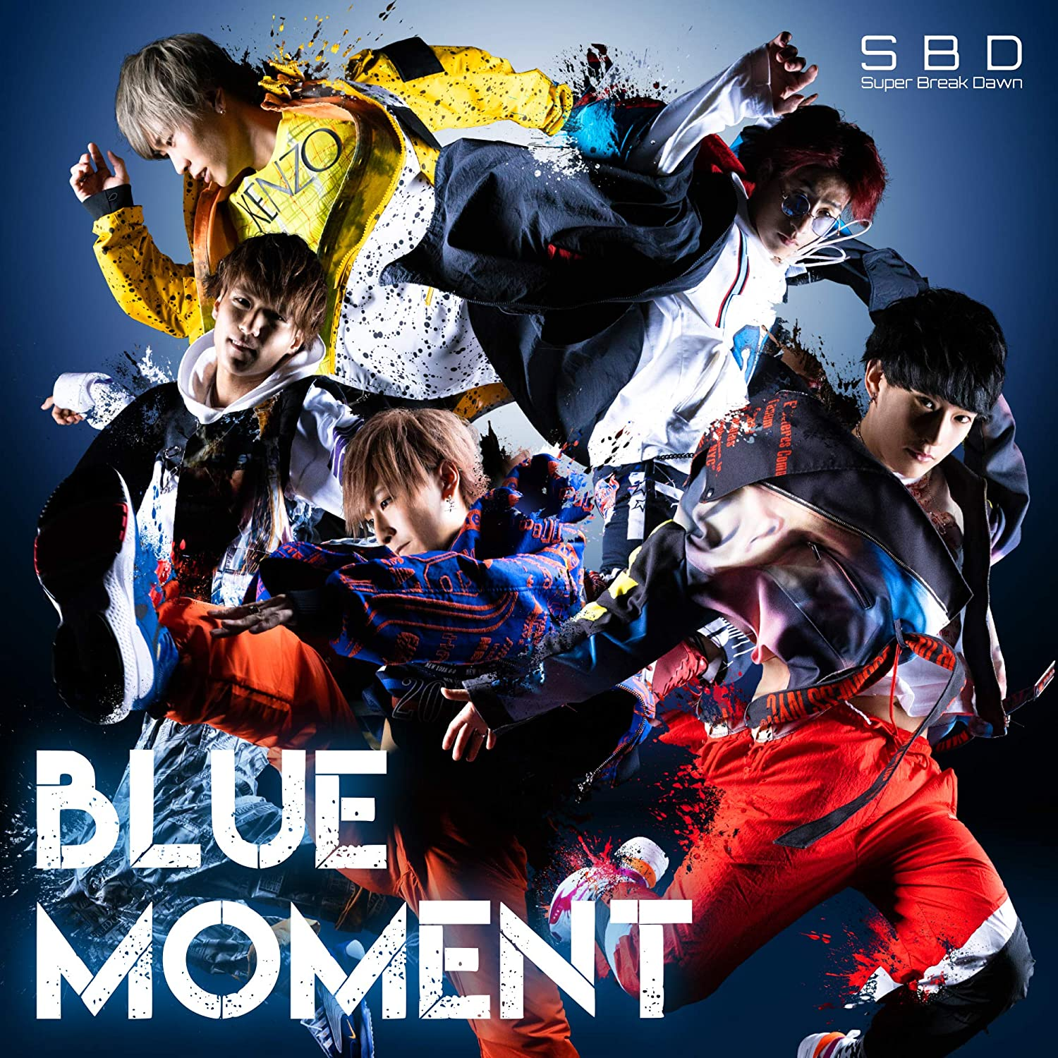 Super Break Dawn「BLUE MOMENT(Album)」
