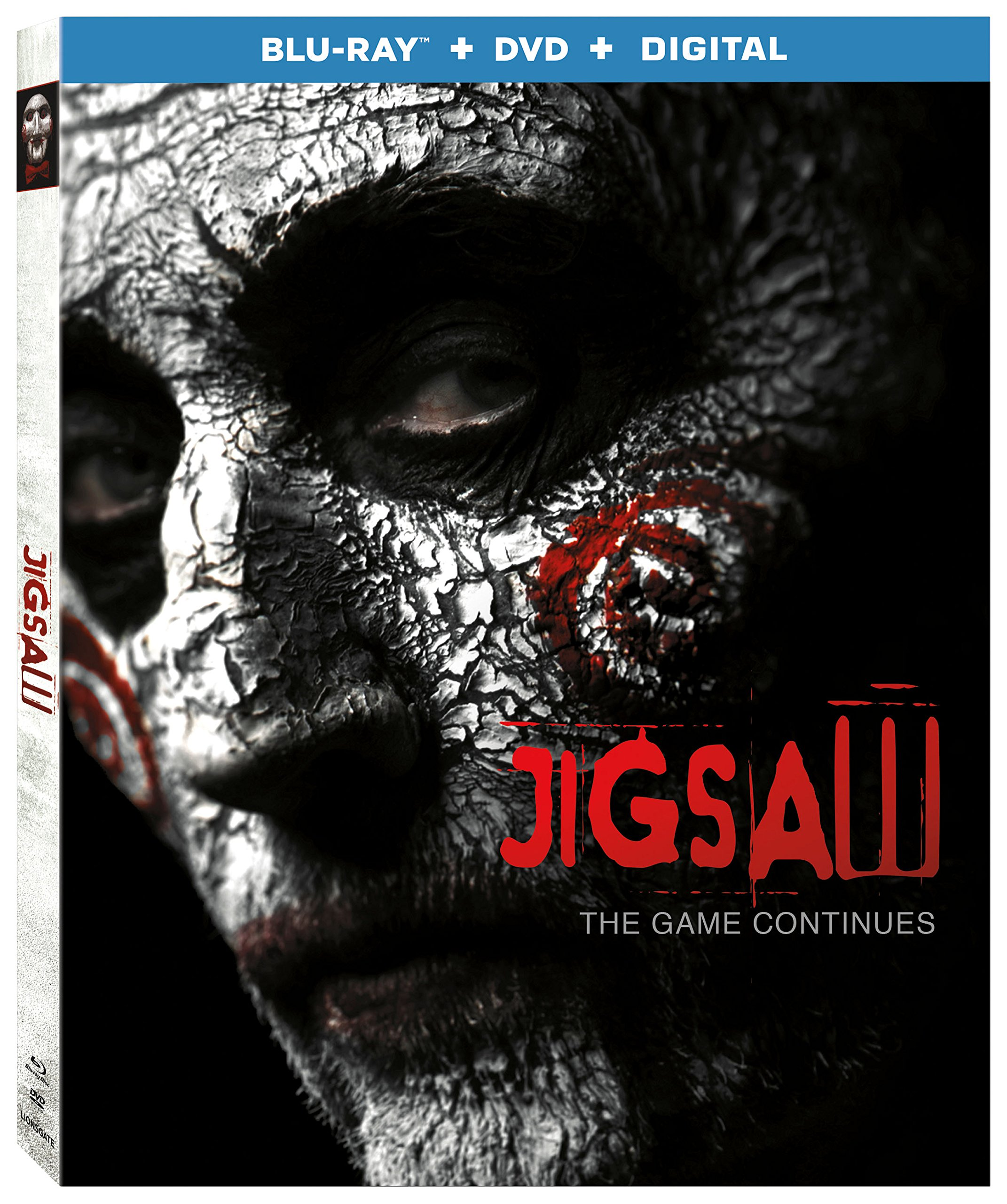 Blu-ray : Jigsaw (With DVD, Ultraviolet Digital Copy, 2 Pack, Widescreen, 2 Disc)