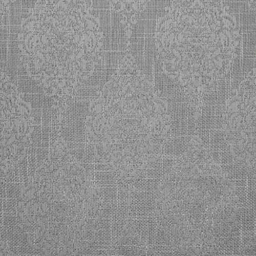 Exclusive Home Curtains Stark Medallion Textured Blackout Grommet Top Curtain Panel Pair, 54×84, Dove Grey