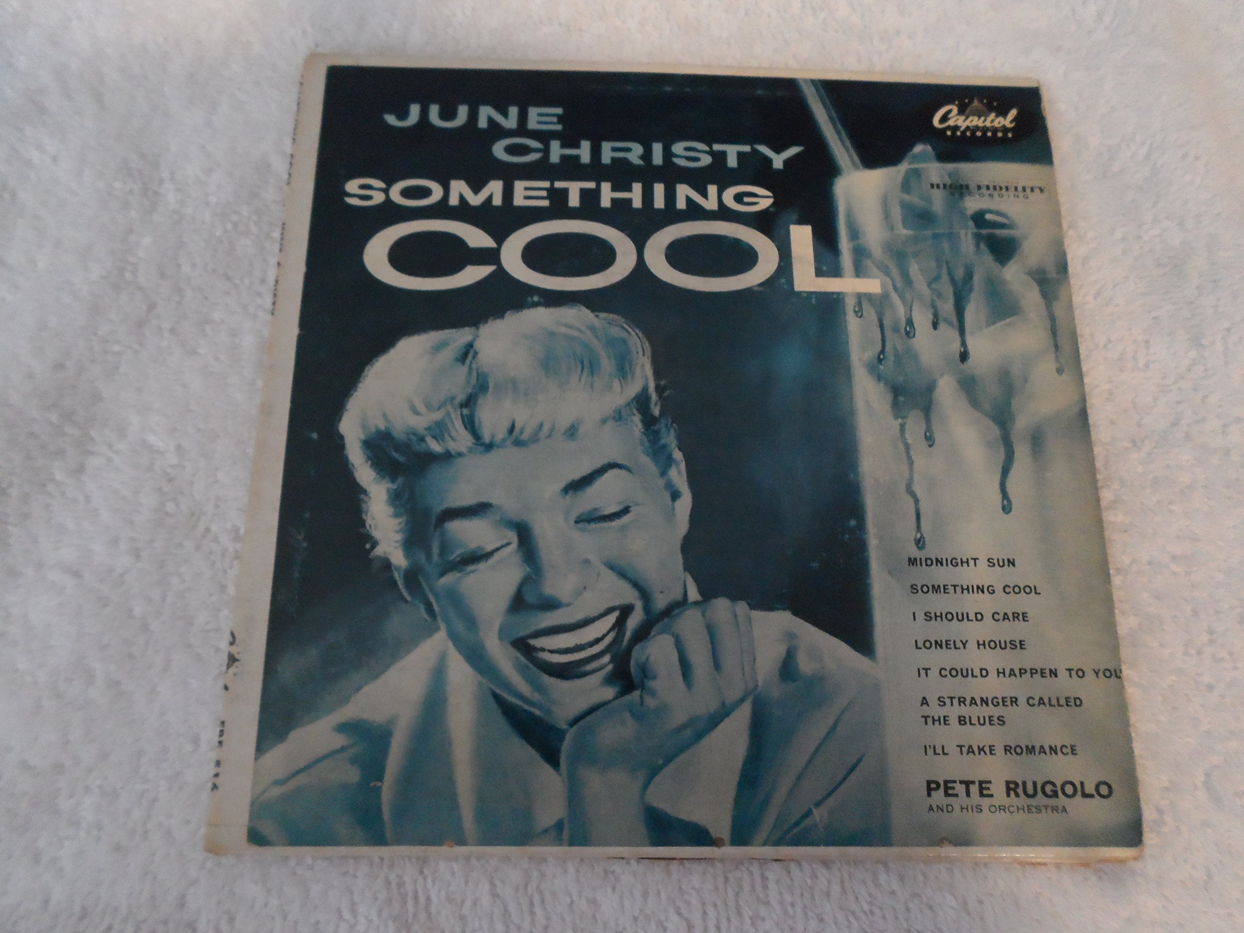 June Christy: Something Cool (Original 1954 High Fidelity Recording -- NOT 1960 Stereo Rerecording) (1955 Capitol 12'' Turquoise Label Issue With Original Cover Art) [VINYL LP] [MONO]
