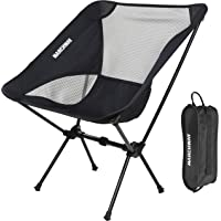 MARCHWAY Ultralight Folding Camping Chair, Portable Compact for Outdoor Camp, Travel, Beach, Picnic, Festival, Hiking…