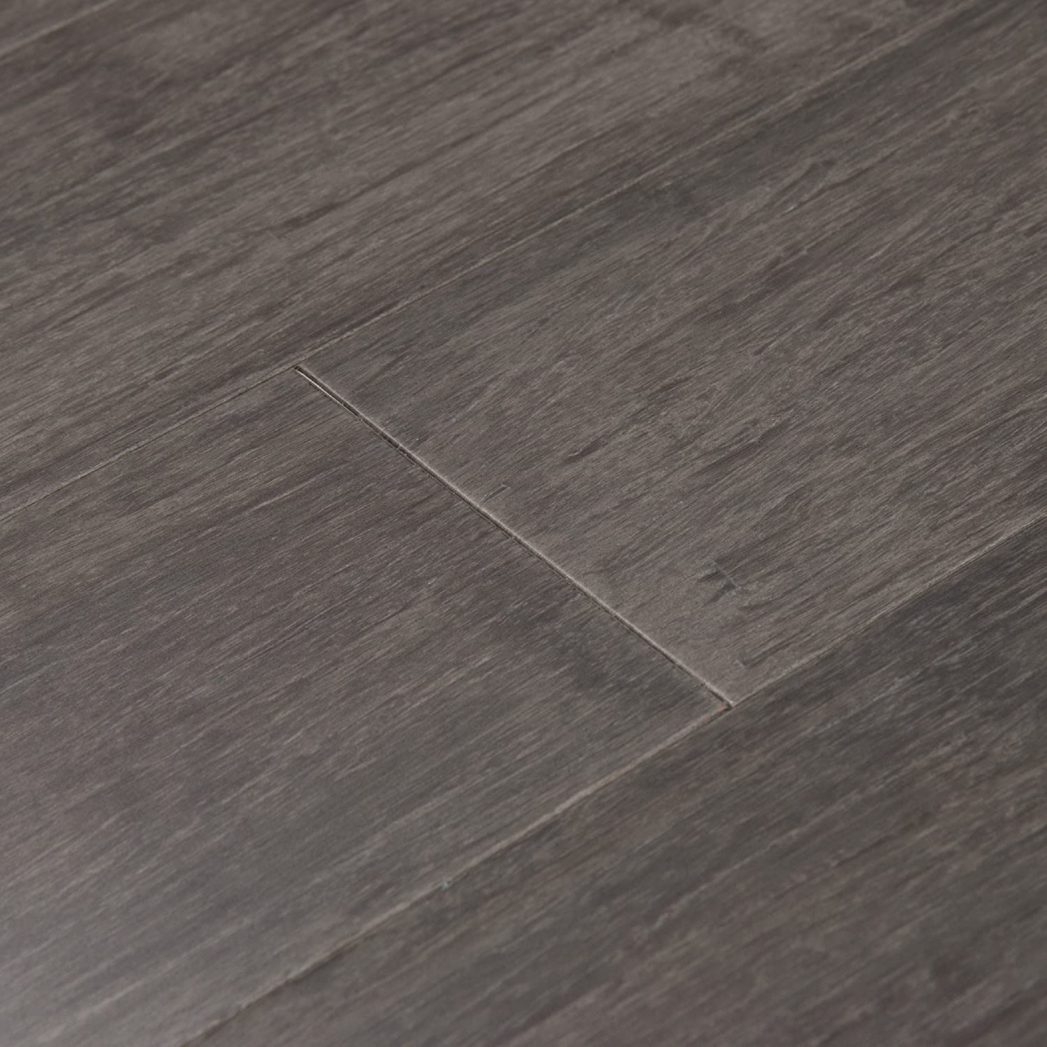 Cali Bamboo Solid Wide Bamboo Flooring Eclipse Gray