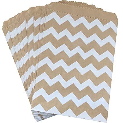 amazon com outside the box papers kraft brown and white chevron