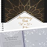 Anniversary Book - A Hardcover Wedding Memory Album To Document Wedding Anniversaries From The 1st To 50th Year - Unique Coup