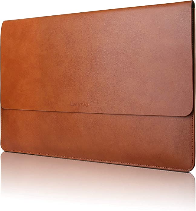 Lenovo 13/14 Inch Laptop Leather Sleeve, for Lenovo Yoga C930, Yoga 920-13, GX40M66708