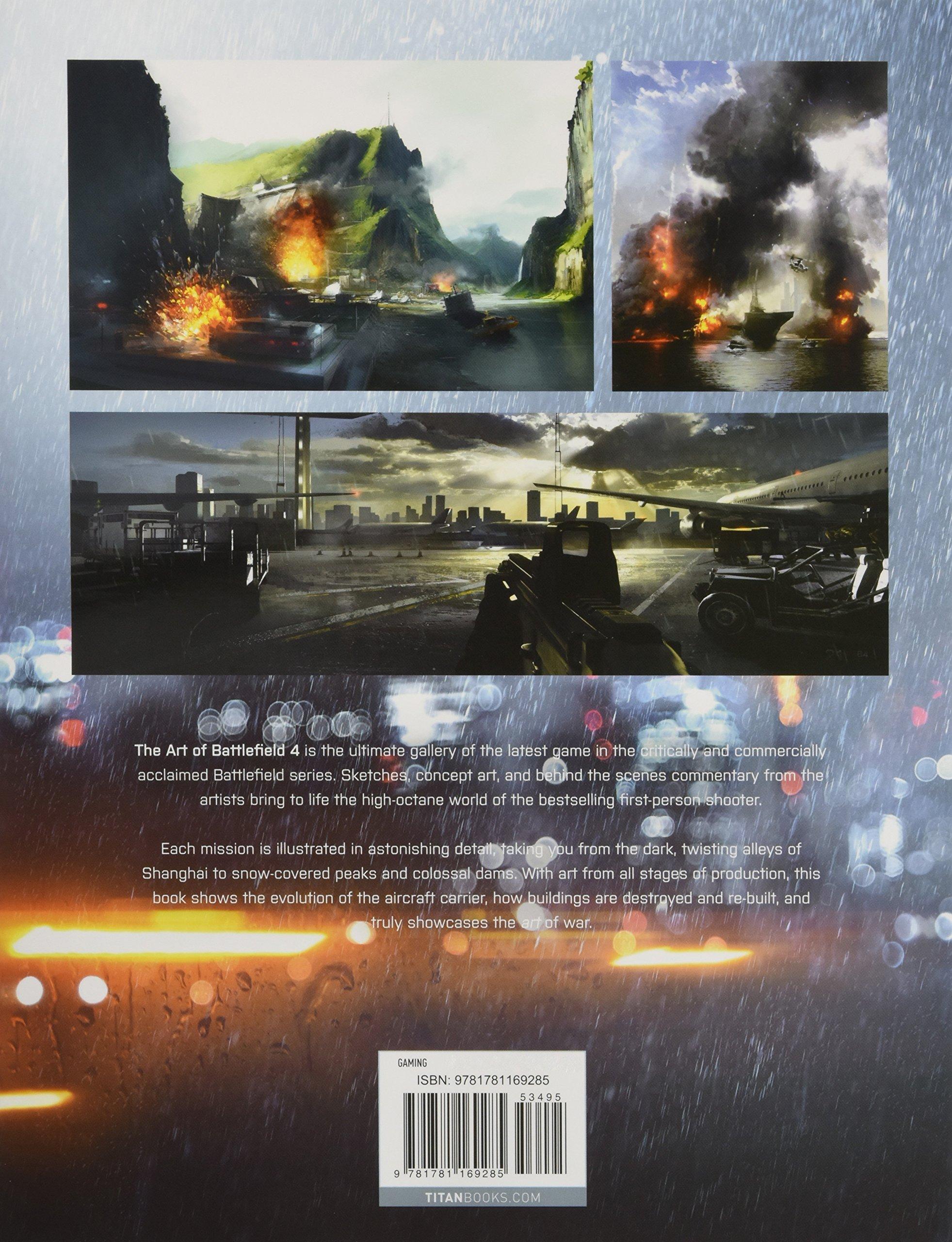 Amazon Com The Art Of Battlefield 4 9781781169285 Robinson Martin Books