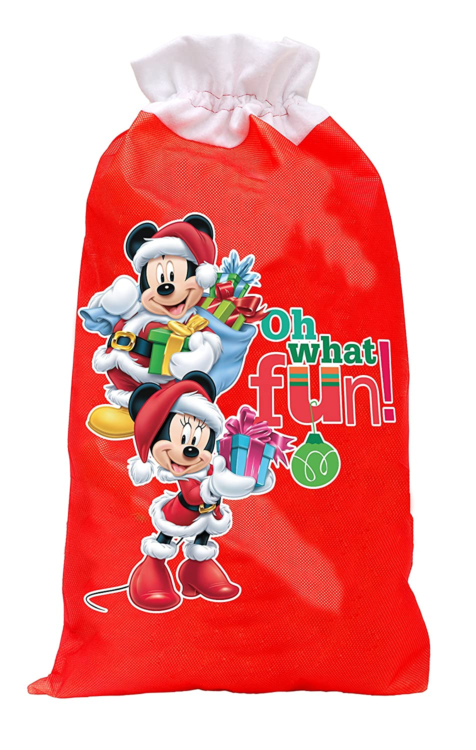Ciao Sacco Doni Natale Disney Large, Rosso, L, 90892