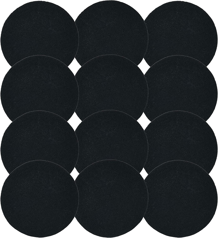 Amazon.com: Paquete de 12 filtros de carbón vegetal para ...