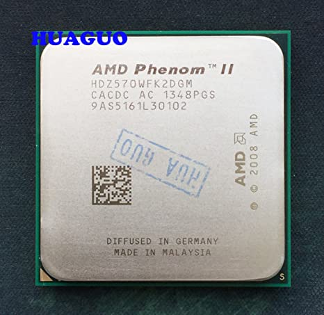 Amazon Com Amd Phenom Ii X2 570 Black Edition 3 5ghz Dual Core Cpu Processor Hdz570wfk2dgm Socket Am3 Computers Accessories