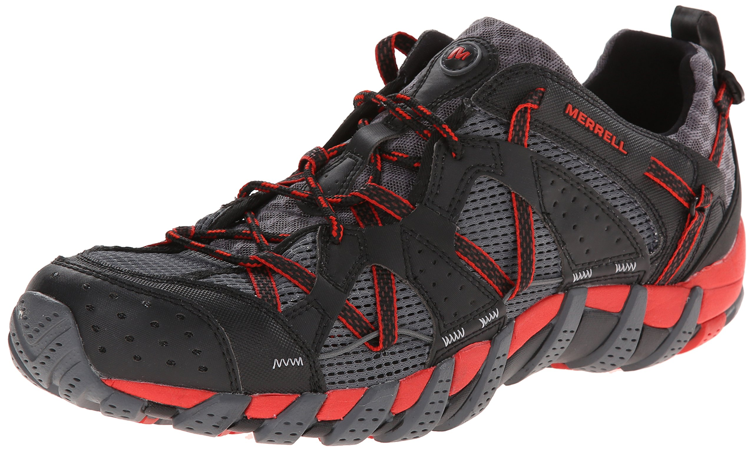 Merrell Men's Waterpro Maipo Water Shoe, Black/Red, 11.5 M US