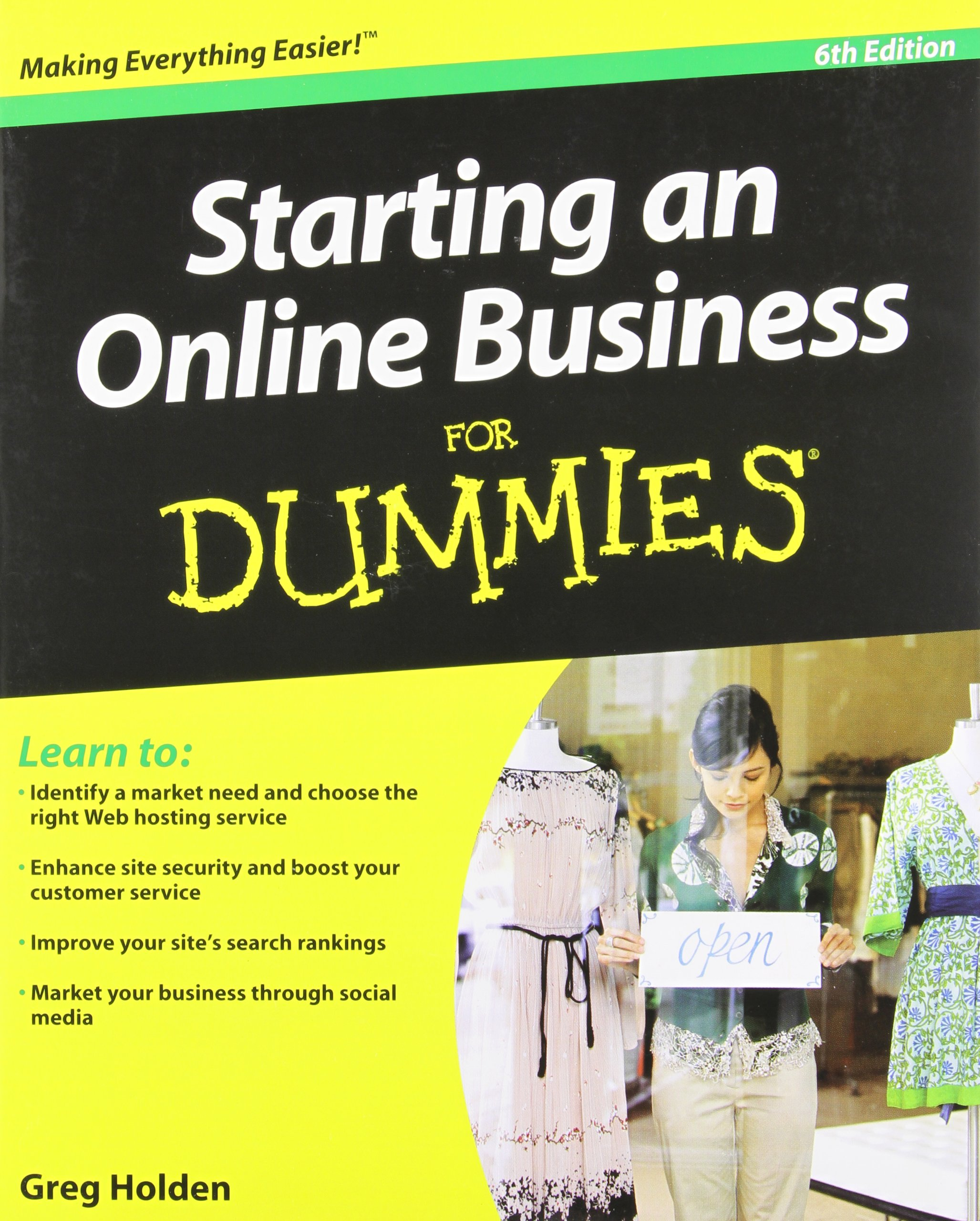 Download Starting an Online Business For Dummies pdf