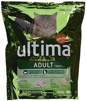 Ultima Comida Para Gatos con Pollo Y Arroz - 800 g: Amazon.es: Amazon Pantry