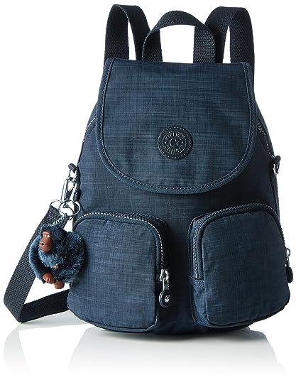 7fbd656266 Kipling Womens Firefly Up Backpack Blue (Dazz True Blue): Amazon.co ...