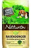 Naturen 8867 Bio Rasendünger - Organischer Volldünger mit bis zu 3 Monaten natürlicher Langzeitwirkung für Sport,- Spiel - und Zierrasen - 20 kg für 500 m²