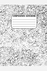 Composition Notebook: Grunge Spackly, 8.5 x 11, 115 pages (School Book, Journal) (TMPixArt Composition Books) (Volume 8) Paperback