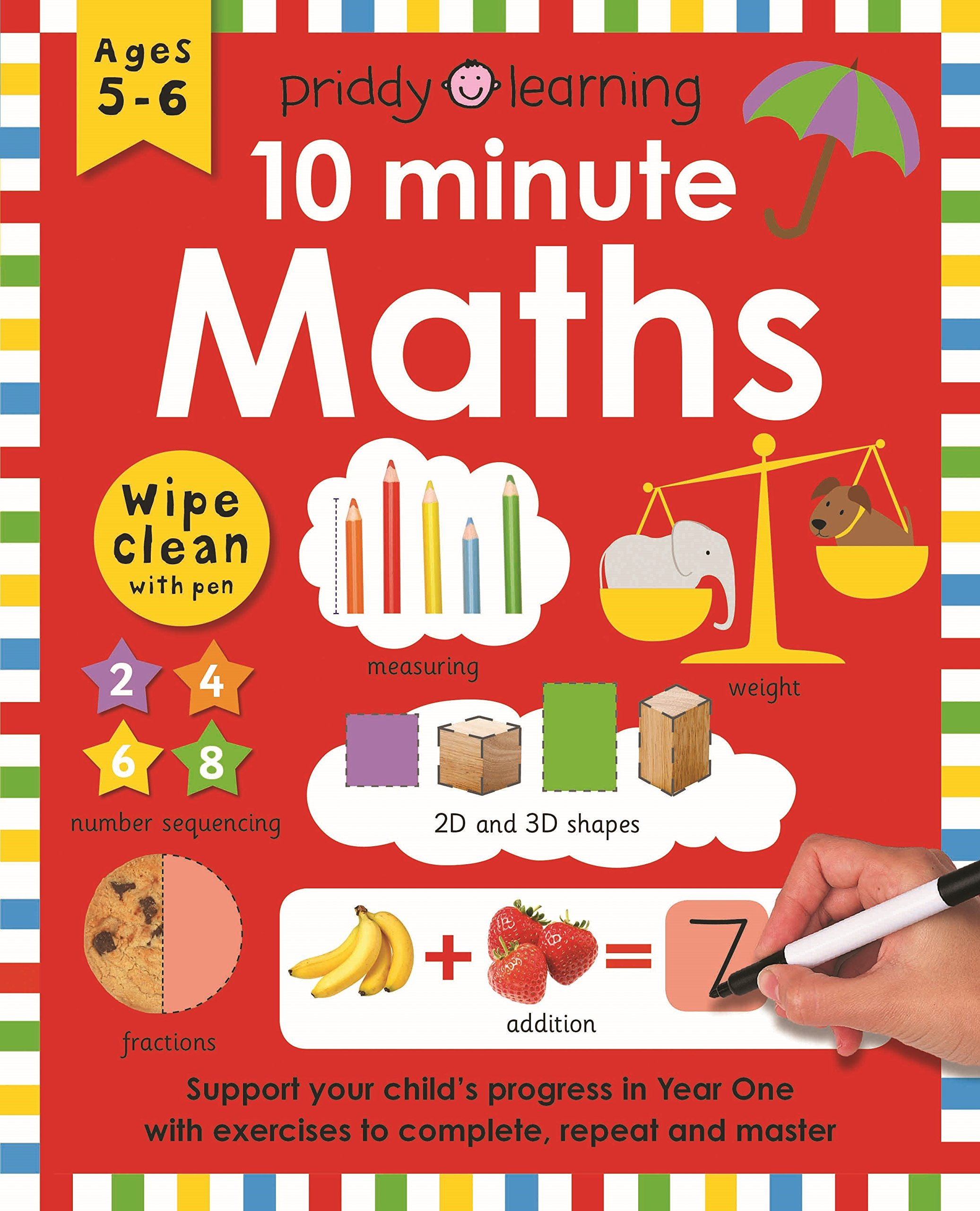 10 Minute Maths (Wipe Clean Workbooks) pdf